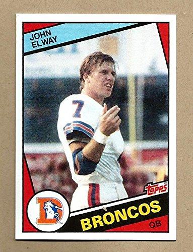 John Elway Rookie 1984 Rookie Reprint Card.
