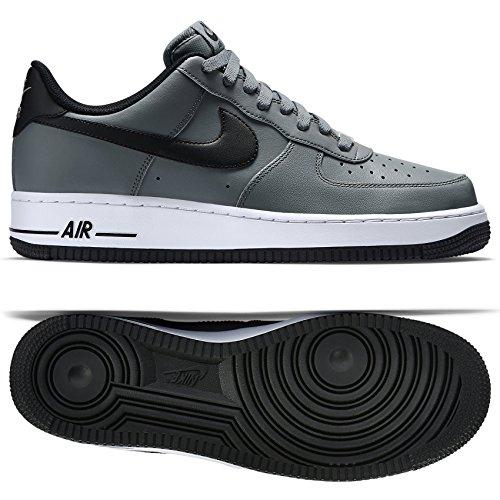 1 Cool Grey/Black/White Basketball Shoe 8.5 Men US ()