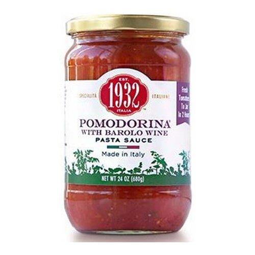 Menu 1932 Pomodorina with Barolo Wine Pasta Sauce, 24 oz (Pack of 2) (Menu Pomodorina Sauce)