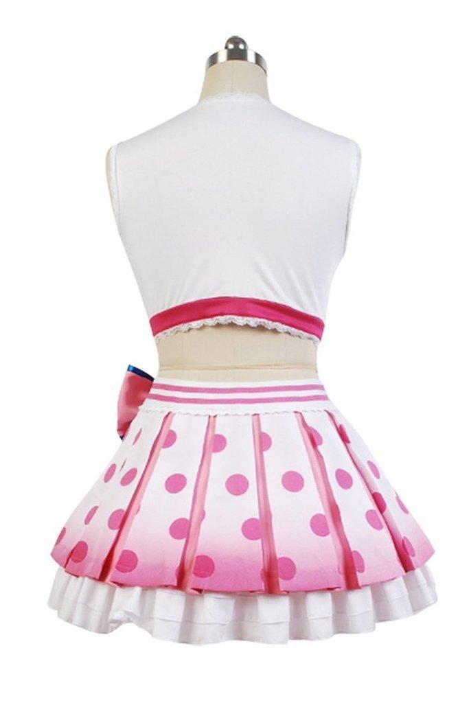 Love Live! Cheerleader Yazawa Nico Costume Uniform Dress Outfit