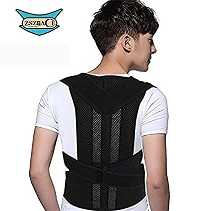 ff848a728836a ZSZBACE Posture Corrector Back Brace Support Belts for Upper Back Pain  Relief