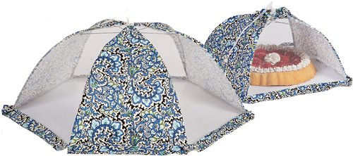 Food Cover Tent Umbrellas Set Of 2 By Picnic - Basket Picnic Seasons All