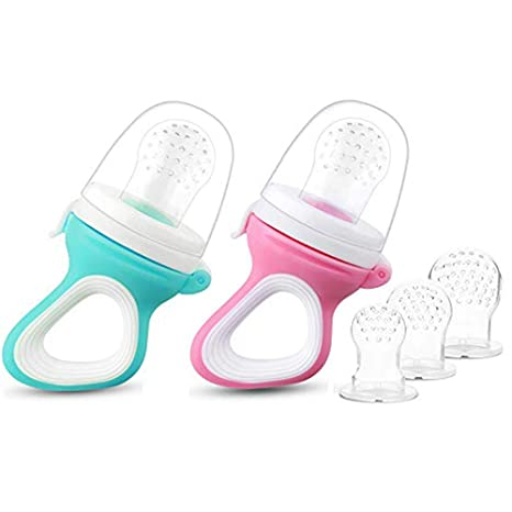 Amazon.com: Paquete de 2 boquillas de silicona para fruta ...