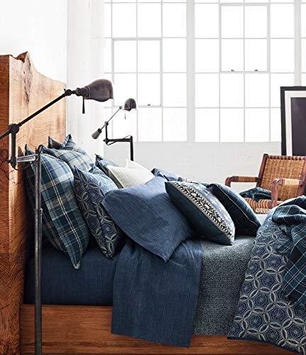 Ralph Lauren Artisan Loft Moore Duvet Cover Blue