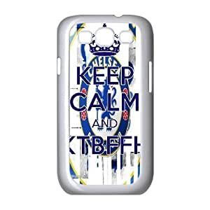 Sexyass Blue Flag Flying High Case for Samsung Galaxy S3, with White