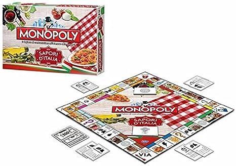 The Box 232824 – Monopoly Sapori d Italia: Amazon.es: Juguetes y juegos