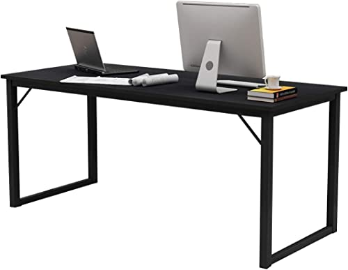 soges 63 inches Computer Desk Large Office Desk Computer Table Study Writing Desk