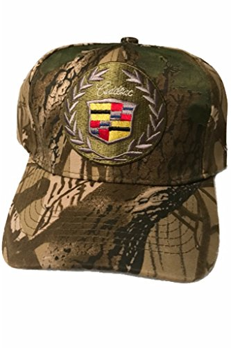- Cadillac Baseball Cap Hat. Camouflage Patterns. Adjustable. New!