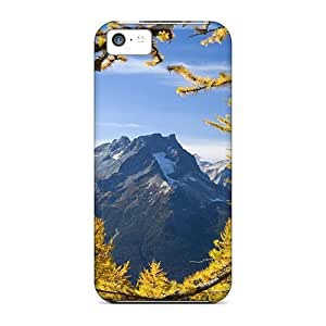 TYHH - Fashionable Iphone 5/5s Case Cover For Glacier Peak Protective Case ending phone case