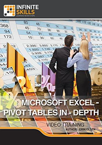 Microsoft Excel - Pivot Tables In-Depth [Online Code] by Infiniteskills