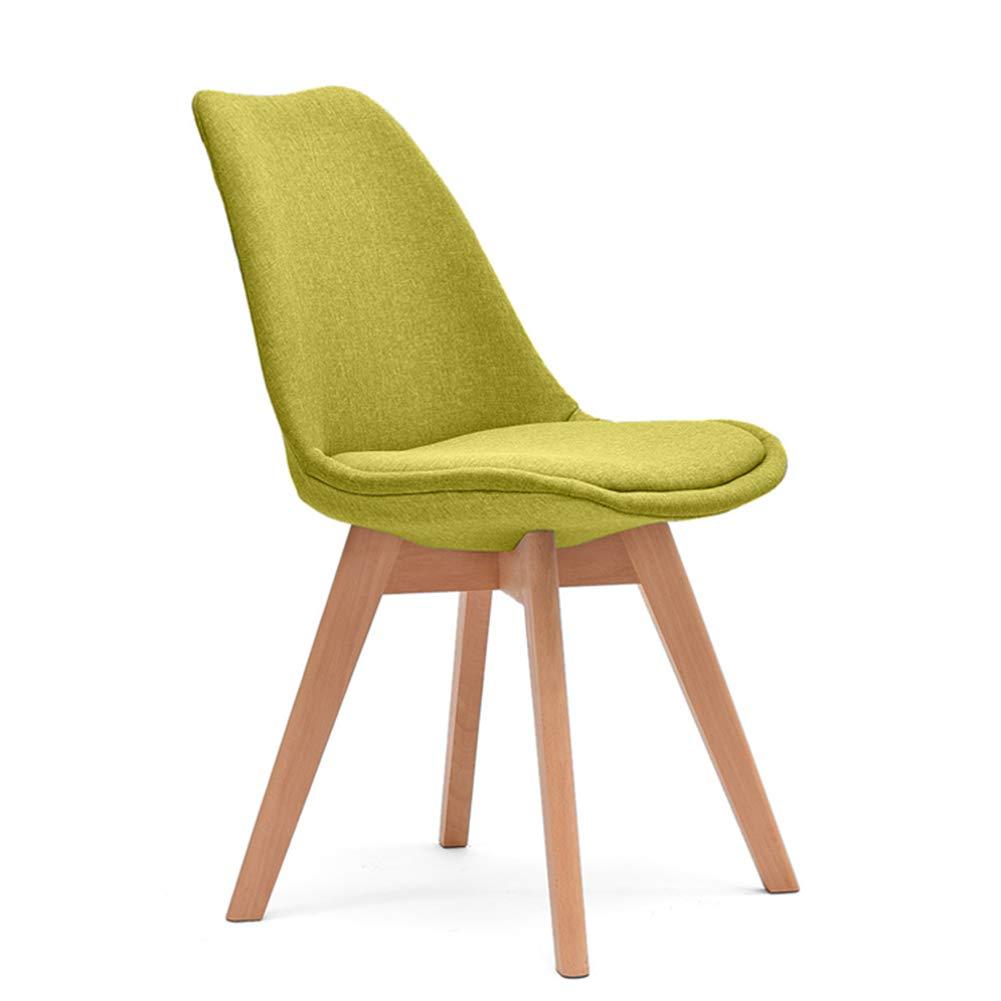 CAIJUN 椅子 家庭 アセンブリ モダン シンプル 固体 綿布 無垢材スツールの足 オフィス 商業の (色 : F f, サイズ さいず : 43x43x83cm) B07GVKPJ6S F f 43x43x83cm