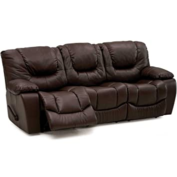 Attirant Palliser Furniture 41047 51 Santino Leather Reclining Sofa