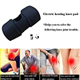Sunbond Infrared Heated Therapy Arthritis Electric Heating Knee Pads, Heat Knee Wrap Pain Relief Hot Therapy keep warm in winter outdoor