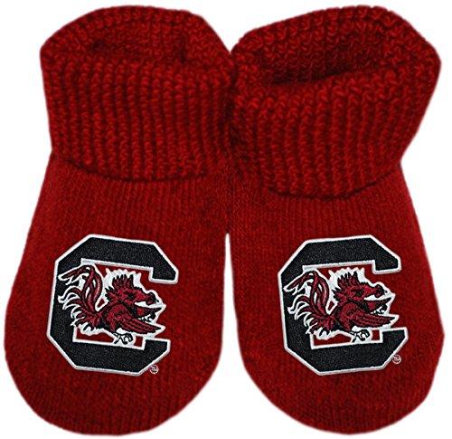 University of South Carolina Gamecocks Newborn Baby Bootie Sock ()