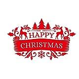 Merry Christmas Removable Wall Sticker Home Christmas Xmas Decor