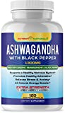Cheap Organic ASHWAGANDHA Capsules with Organic Black Pepper by Potent Naturals: 120-Veg Caps, Extra Strength 1300MGS per Serving | Non-GMO, Gluten-Free | Strengthens & Relaxes | 60-Day Supply, Made in USA