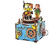 3D Wooden Puzzl / Music Box