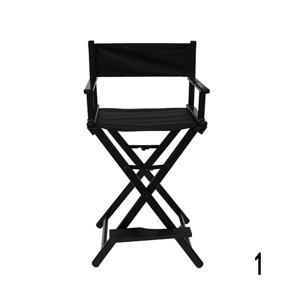 Gracefulvar Rolling Studio Makeup Artist Cosmetic Case Chair (Black)