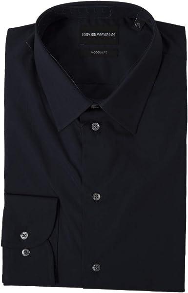 Emporio Armani Camisa turquesa 38: Amazon.es: Ropa y accesorios