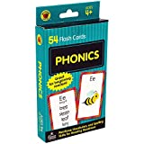 Carson Dellosa - Phonics Flash Cards - 54 Cards, Sight Words, Learn to Read for Preschool and Kindergarten Toddlers, Ages 4+ with Bonus Game Card (Brighter Child Flash Cards) (packaging may vary)