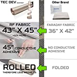 RF Faraday Fabric, Conductive Fabric, EMF