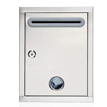 Amazon.com: XY Wall-mount Letterboxes Mailbox - Stainless ...