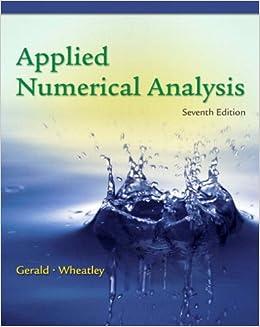 Numerical Analysis (International Edition)