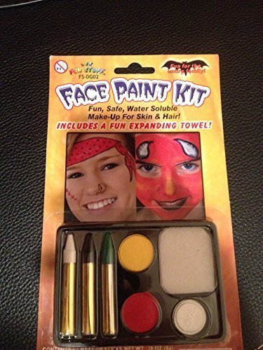 Party Halloween Face Painting Kit by Our Fun Stuff -
