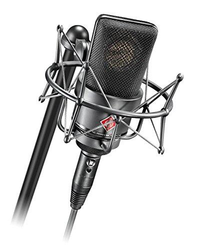 NEUMANN TLM103-BLACK Cardioid microphone, w/mount & case - Neumann Tlm 103 Studio Microphone