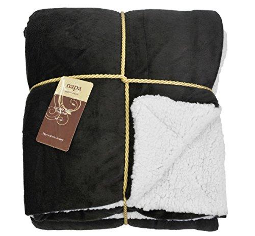 Napa Sherpa Blanket Reversible Comfort