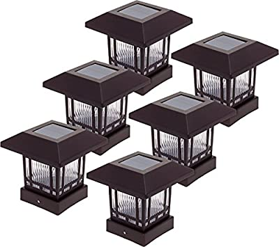 Westinghouse Solar 20 Lumens Post Cap Light for 4 x 4 Wood Posts