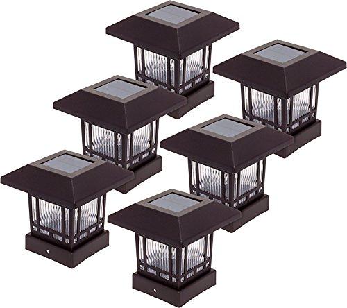 Westinghouse 6 Pack Solar 20 Lumens Post Cap Light for 4 x 4