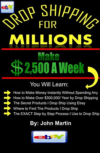 Drop Shipping On Ebay for Millions: A Guide to Making A Full Time Income by