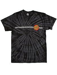 Santa Cruz Classic Dot T-Shirt - Spider Black