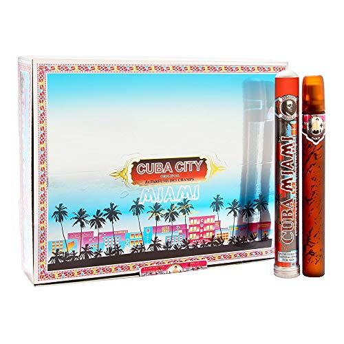 Cuba City Miami South Beach by Cuba for Men 20 x 1.17 oz Eau de Toilette Spray (1 Box)
