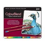 ColourBlend by Spectrum Noir New 24 Piece Pencil Tin, Naturals