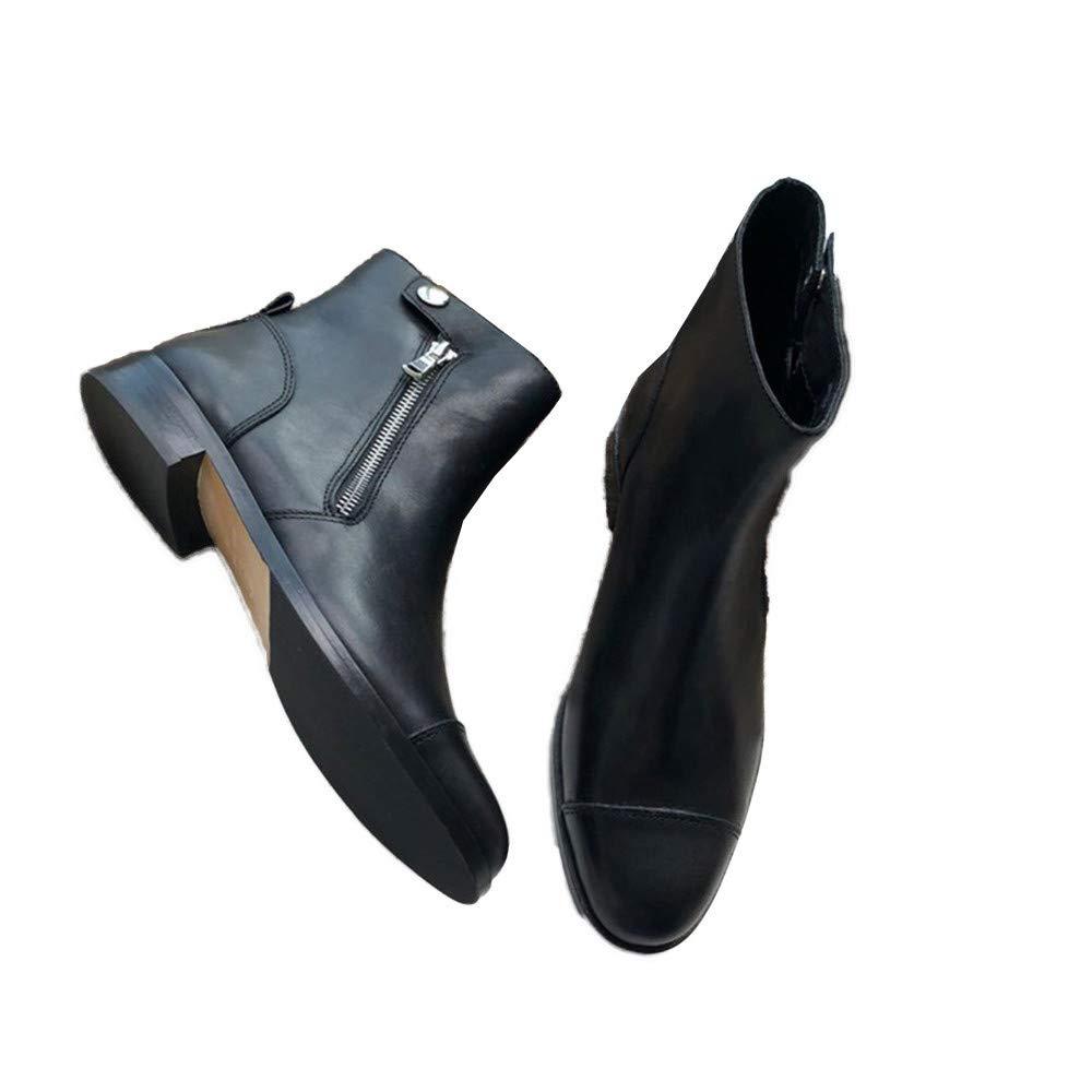 Schwarz Shirloy Damen Leder Stiefel Classic schwarz Suede Leder Damenschuhe M Charm Temperament Sexy Bequeme Schuhe