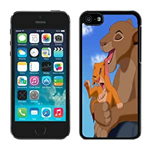 Fashion Custom Designed The Lion King Sarabi Simba iPhone 5 5c 5th Generation Black Phone Case CR-625