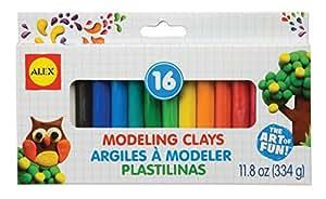 ALEX Toys Artist Studio 16 Modeling Clay
