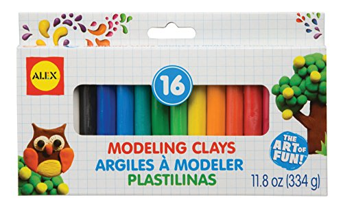 (ALEX Toys Artist Studio 16 Modeling Clay)
