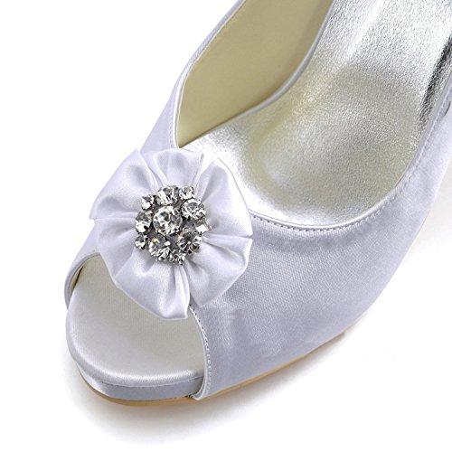 10cm Bianco Women Bianco Tacco Sandals Minitoo For 8xwaqfYzY