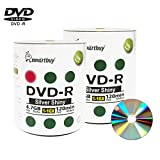 Smartbuy 200-disc 4.7gb/120min 16x DVD-R Shiny Silver Blank Data Recordable Media Disc