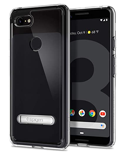 purchase cheap b8d8c b5183 Spigen Ultra Hybrid S Designed for Google Pixel 3 Case (2018) - Crystal  Clear