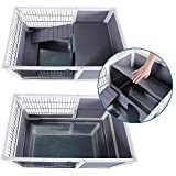 PETSFIT Indoor Rabbit Hutch & Hamster Cage with