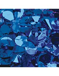 """<span class=""""a-offscreen"""">[Sponsored]</span>Blue Metallic Floral Sheeting by Victory Corps"""