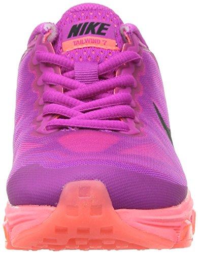 Nike Womens Wmns Air Max Medvind 7, Fuchsia Flash / Svart-hot Lava-lava Glød, 5,5 M Oss