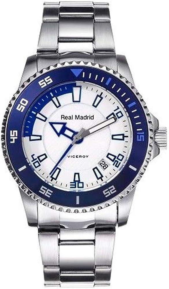 Viceroy 432856-07 Reloj Oficial del Real Madrid para Niño, Acero