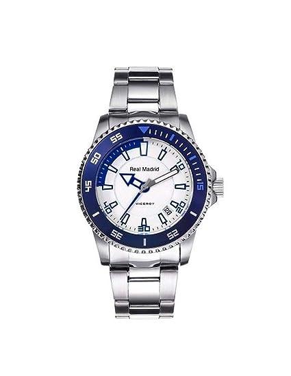 Viceroy 432856-07 Reloj Oficial del Real Madrid para Niño, Acero: Amazon.es: Relojes