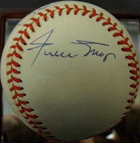 Bobby Barry Bonds Strawberry HOJO WILLIE MAYS SIGNED 30/30 Club Baseball LOA - JSA Certified - Autographed Baseballs