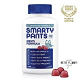 Health & Personal Care : SmartyPants Men's Formula Daily Gummy Vitamins: Gluten Free, Multivitamin & Omega 3 Fish Oil (DHA/EPA), Methyl B12, Vitamin D3, Vitamin B6, 180 Count (30 Day Supply) - Packaging May Vary
